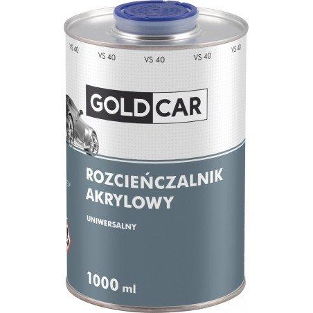 Rozcieńczalnik akrylowy uniwersalny Goldcar 1l
