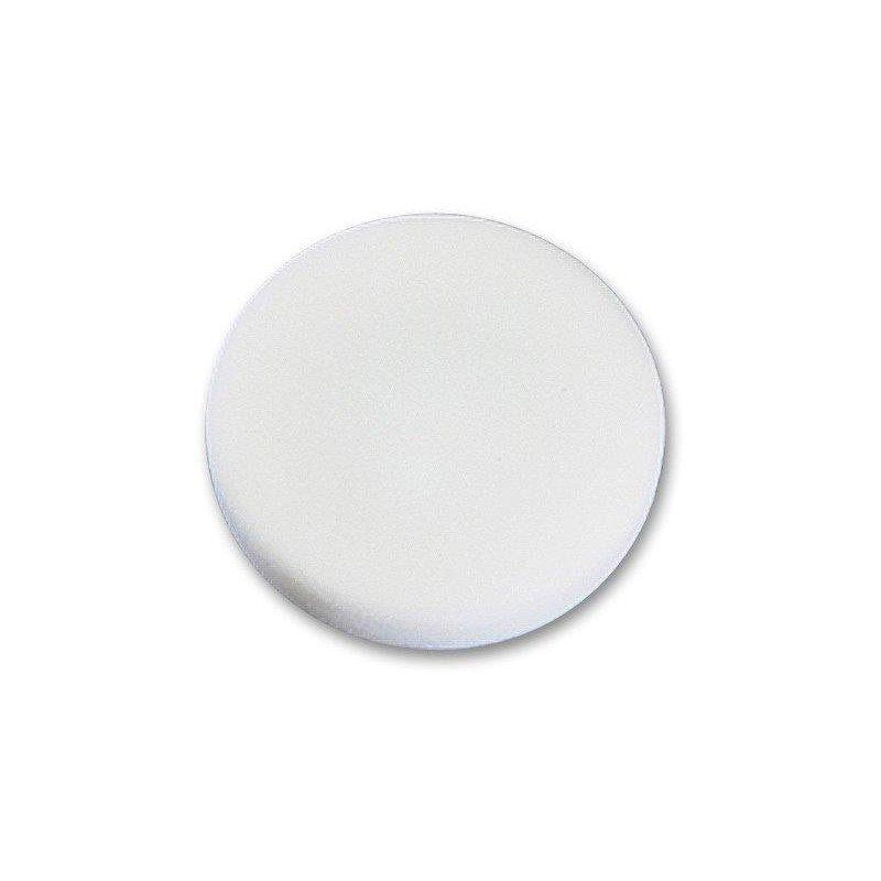Gąbka polerska na rzep 170mm miękka biała
