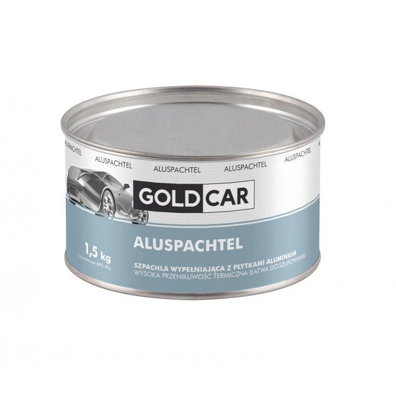 Szpachla Alu z płytkami aluminium wypełniająca Goldcar 1,5kg z