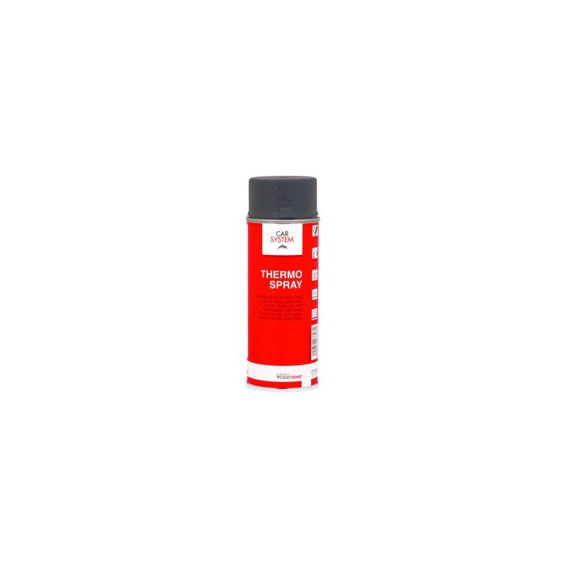 Farba termo odporna na temp do 650st C czarna spray Carsystem