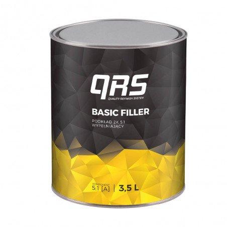 Podkład BASIC FILLER 2K 5:1 szary QRS 3500 ml