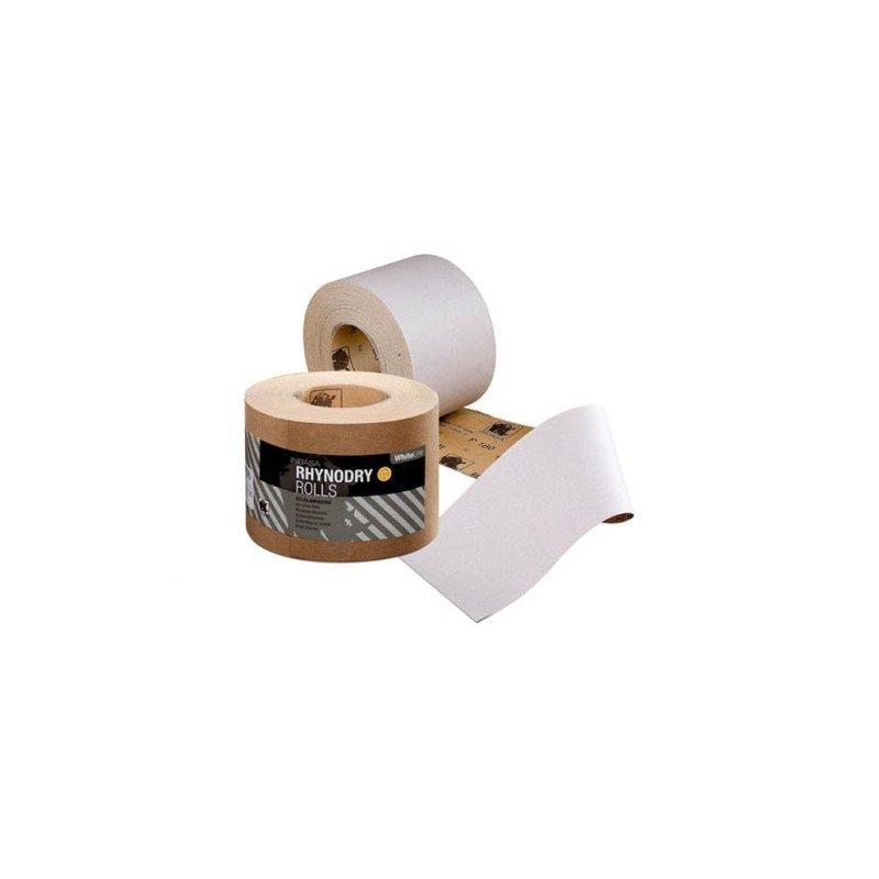 Rolka Indasa biała RHYNALOX 115mm x 50m P220