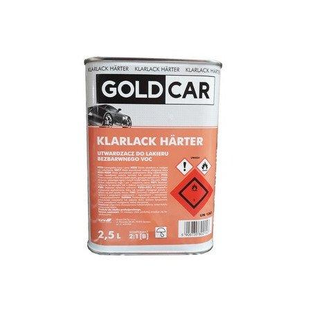 Utwardzacz GOLDCAR do lakieru bezbarwnego VOC 2:1 szybki 2,5L